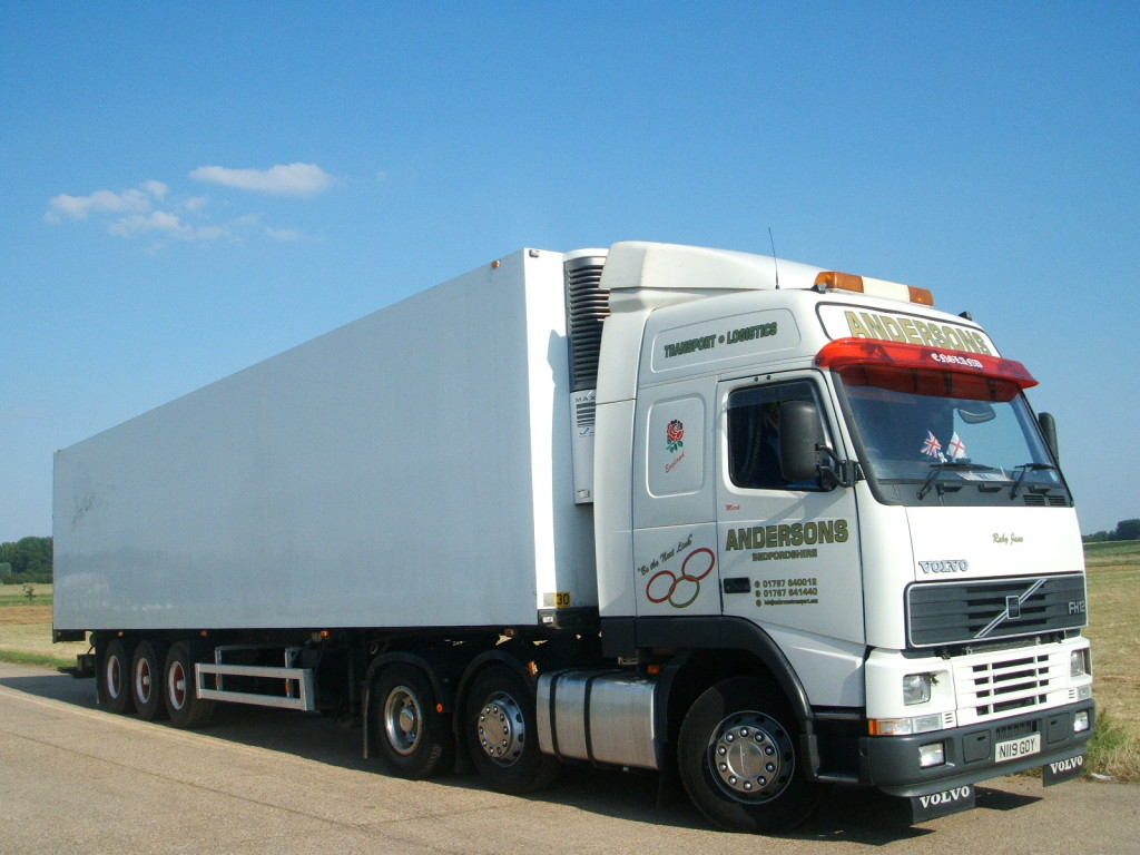 Andersons Transport HGV truck and trailer