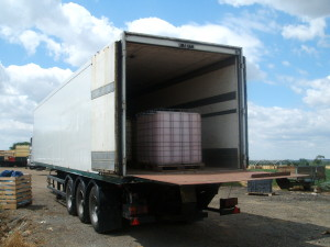 Andersons Tail Lift trailer open