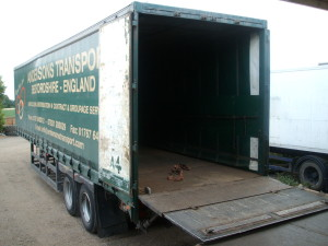 Andersons Transport Trailer with taillift