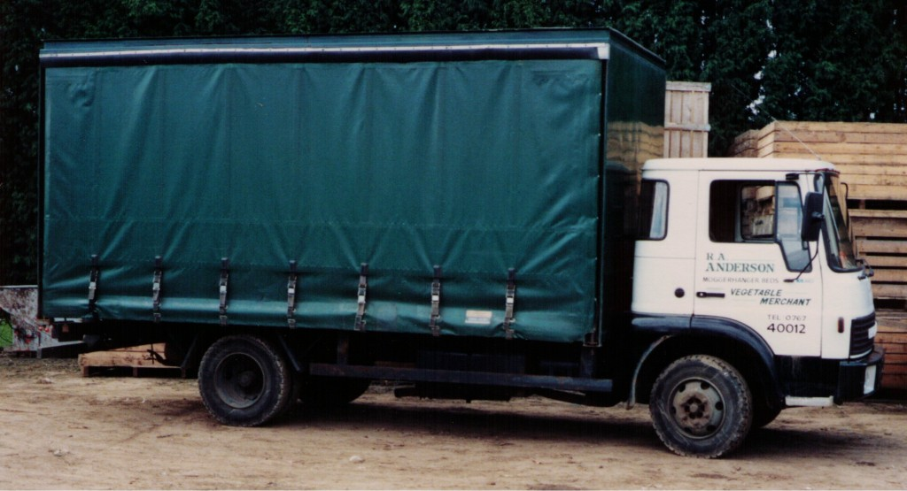 Robert Andersons first Bedford TK lorry