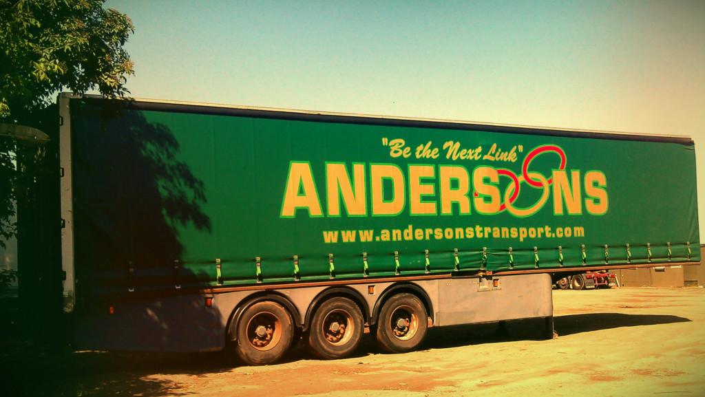 Andersons Tautliner Trailer - Curtain Side
