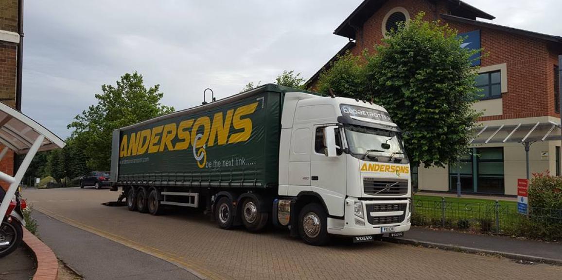 Andersons Transport Truck & Trailer