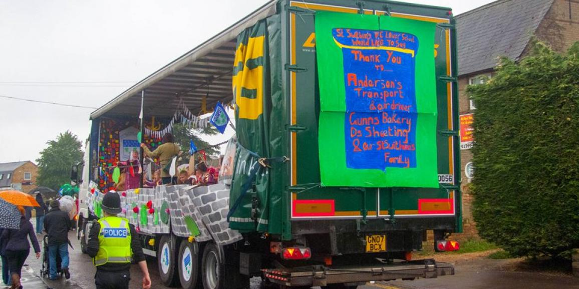 Sandy Town Carnival 2015, Bedfordshire