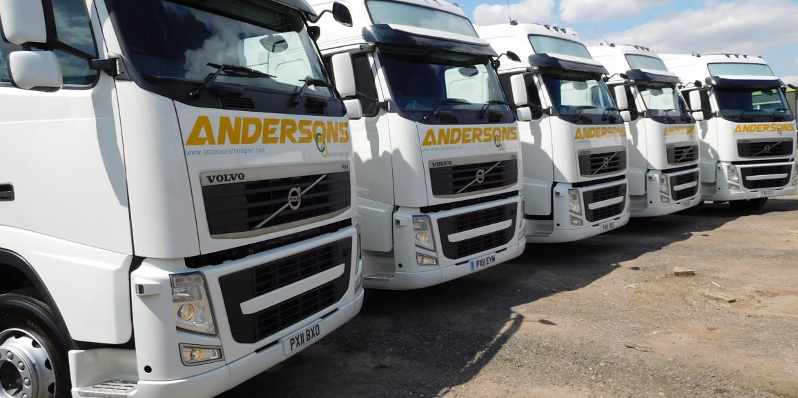 New Additions To Andersons Transport Fleet July 2015